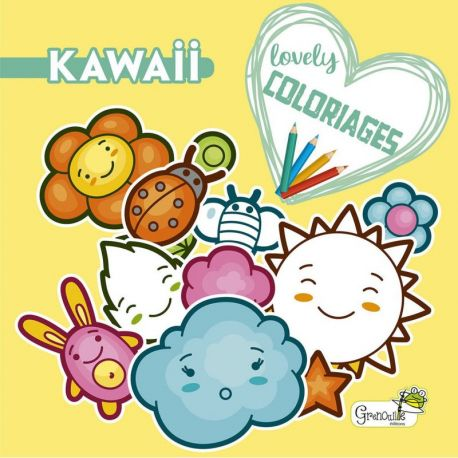 KAWAII - LOVELY COLORIAGES