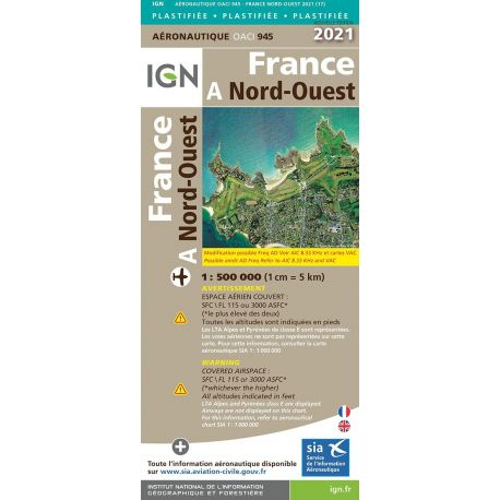 945 - FRANCE NORD OUEST 2021 PLASTIFIEE
