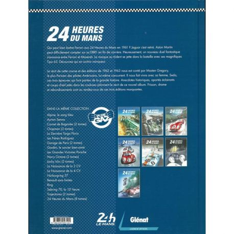 24 HEURES DU MANS  1961-1963 RIVALITES ITALIENNES