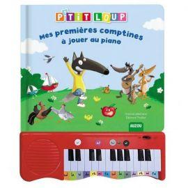 P'TIT LOUP MES PREMIERES COMPTINES A JOUER AU PIANO