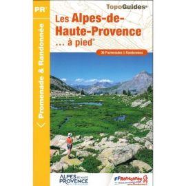 D004 LES ALPES DE HAUTE PROVENCE A PIED