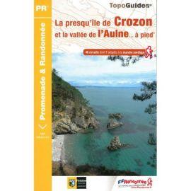 P293 LA PRESQU'ILE DE CROZON / LA VALLEE DE L'AULNE....A PIED