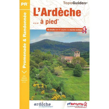 D007 L'ARDECHE A PIED