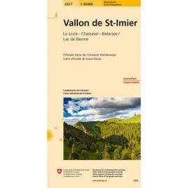 VALLON ST IMIER PEDESTRE