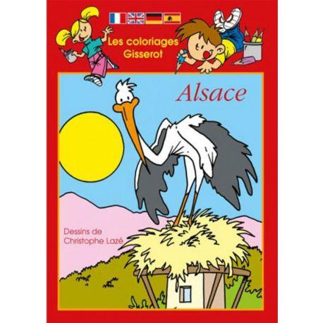 ALSACE COLORIAGES