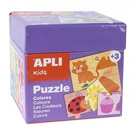 PUZZLE 24 PCS COULEURS