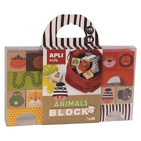 ANIMALS BLOCKS *16