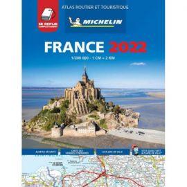 ATLAS FRANCE 2022 MULTIFLEX ROUTIER ET TOURISTIQUE