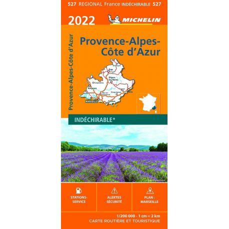 527 PROVENCE ALPES COTE D'AZUR 2022 INDECHIRABLE