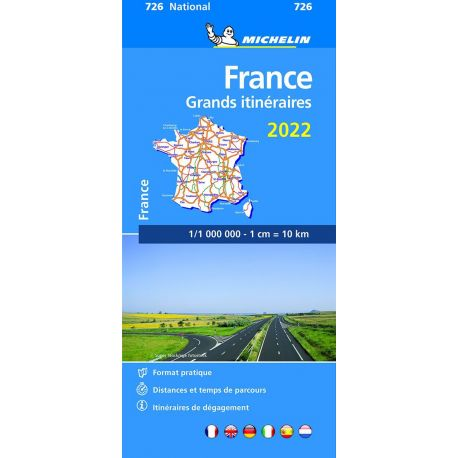 726 FRANCE GRANDS ITINERAIRES 2022