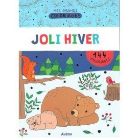 MES GRANDS COLORIAGES - JOLI HIVER