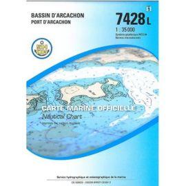 7428L BASSIN D'ARCACHON PORT D'ARCACHON PUBLICATION